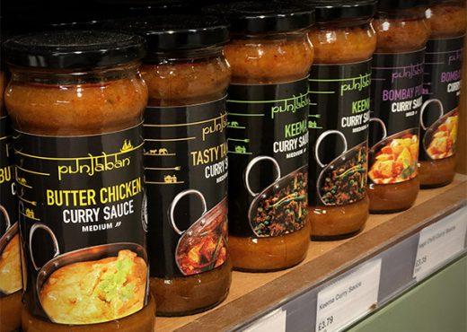 Tins, jars & cooking sauces
